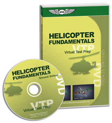 ASA Virtual Test Prep - DVD Ground School Helicopter