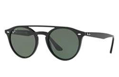 Sunglasses Ray Ban Rb4279 601 9a Black W Polar Green Lens